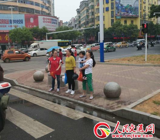 文明交通 志愿者在行动
