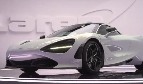 全新迈凯伦720S亮相上海车展新一代超跑动力更强造型更艳