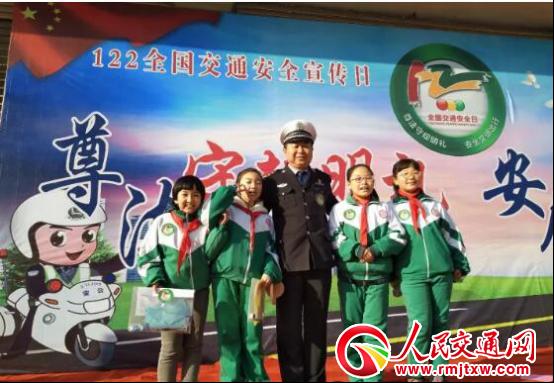 声势浩大点面结合—陕西省绥德交警122主题宣传活动有看点
