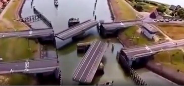 日本设计这座桥的工程师真是神人