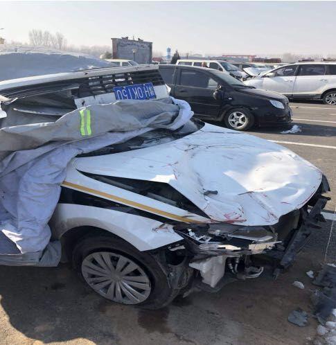 河南武陟:交通局执法人员任性追车酿事故