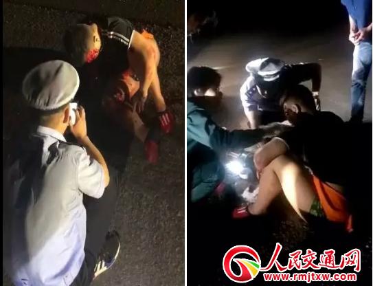 河北井陉辅警袁海:事故现场救人举动刷爆微信群