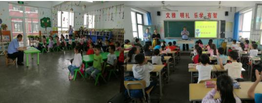 河北井陉交警:交通安全教育从幼儿抓起