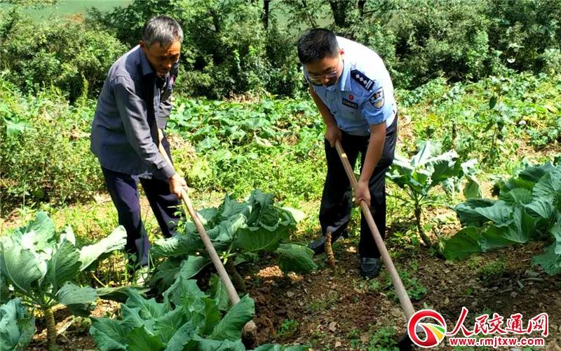 大山村在精准扶贫下的巨变一川北广元交警扶贫攻坚成就综述