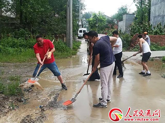 河南淮阳县交通局:志愿服务 助力美丽乡村建设