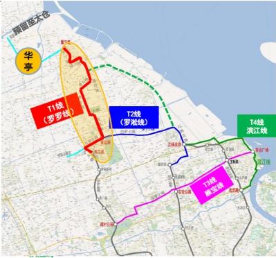 宝山发展迎重磅利好,中运量轨交线路图发布
