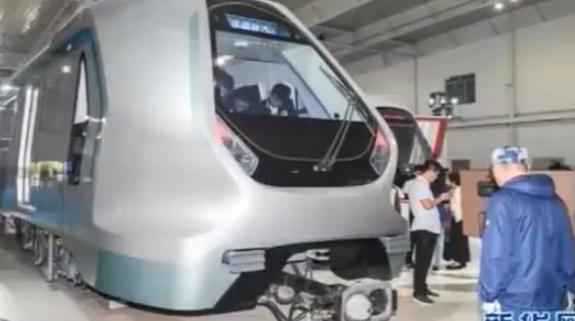新一代智能地铁列车在长春首次亮相