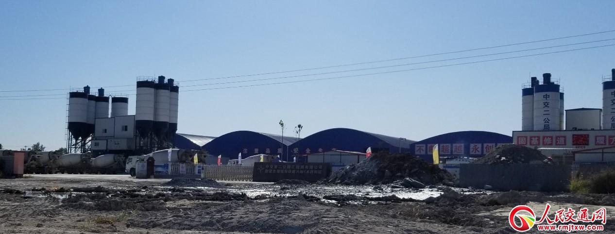 河北霸州:中交二公局新建京雄城際鐵路項目兩家拌合站肆意污染