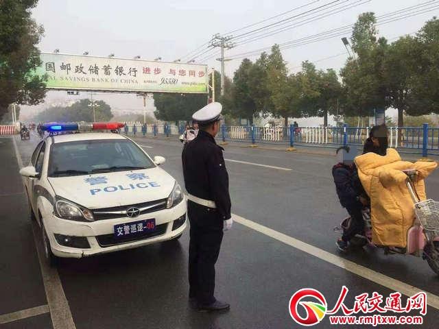 """河南淮滨交警扎实推进""""百日安全行动"""""""