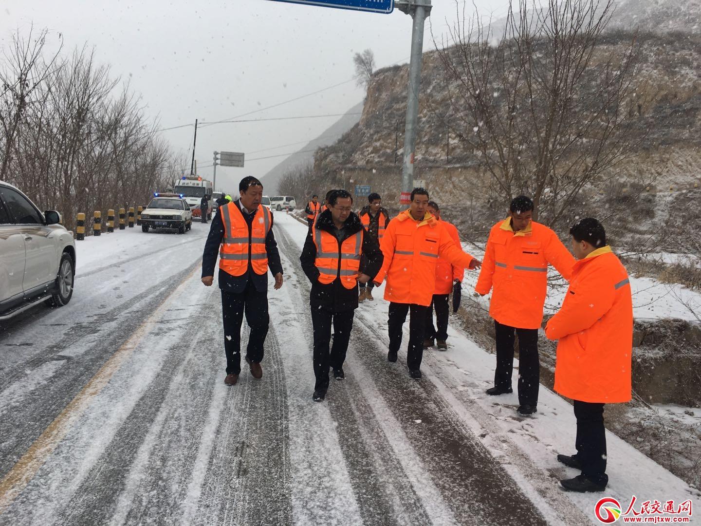 甘肃省公路局全面检查考核天水公路管理局2018年工作