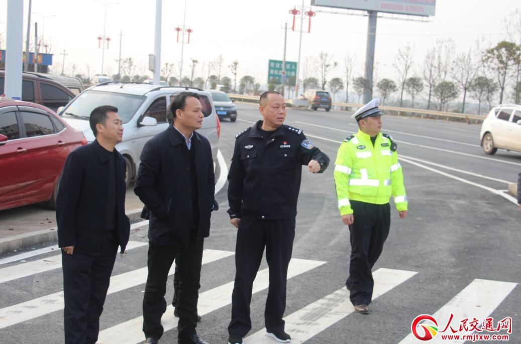 湖南省衡南县多方联动抓好节点路段春运交通安保工作