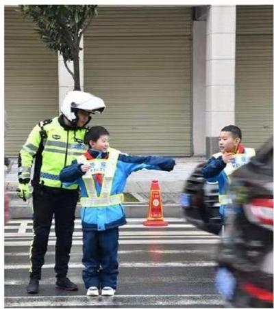 交通安全知识 进校园