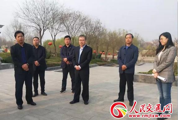 河北魏县县领导卢健、樊中青实地调研第十九届梨花节筹备工作
