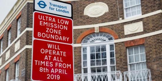 伦敦设立超低排放区 排放超标车辆需缴费进入