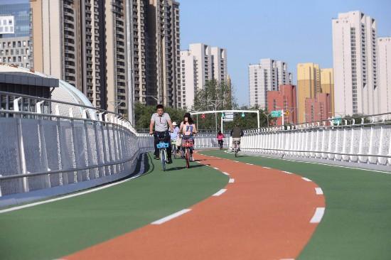 盘点自行车专用路6大贴心设计