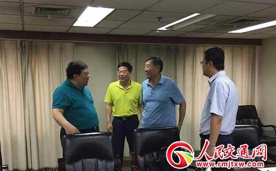 石家庄市人民政府常务副市长李雪荣一行拜访中国交通运输协会
