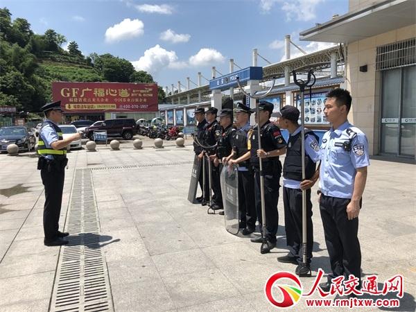 福建福州铁路公安处福鼎车站派出所组织开展路地联勤应急拉动演练