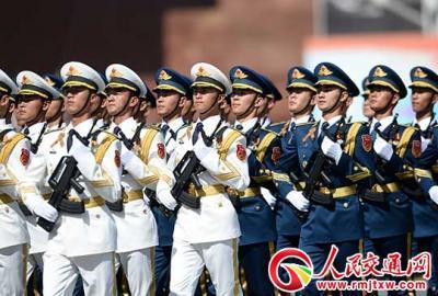 大国仪仗: 三军仪仗队代言中国形象