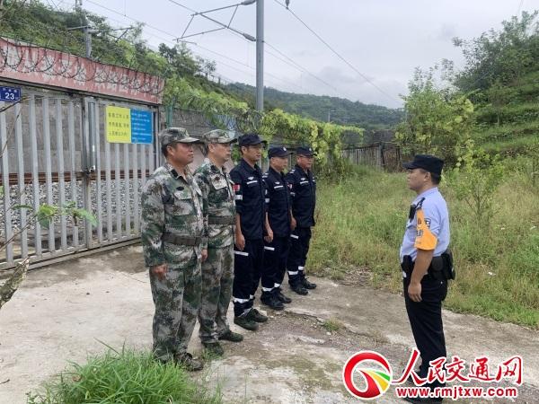 福建福鼎车站派出所开展模拟警情演练 提升应急处突能力