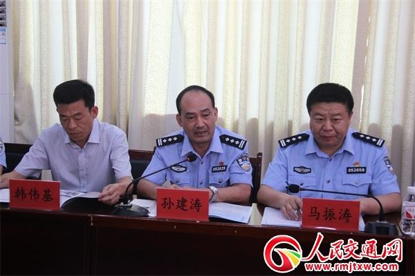 山东省安丘市公安局与贵州省锦屏县公安局举行警务交流合作框架协议签字仪式