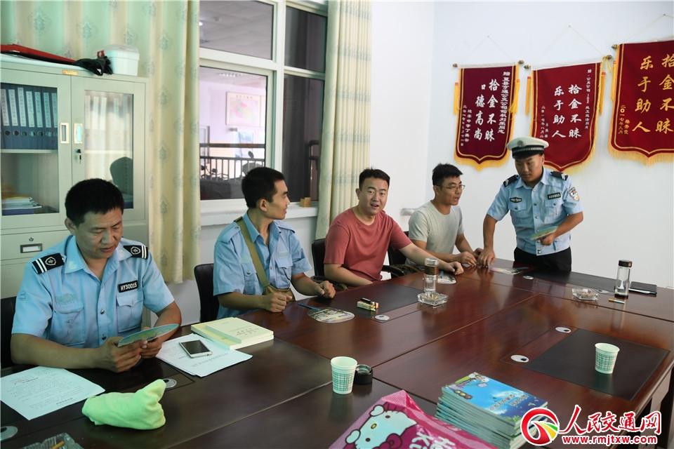运城夏县公安交警—— 强化源头管控 严防事故发生