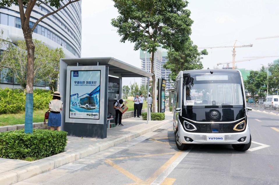 郑州无人驾驶小巴已安全运行满1万公里