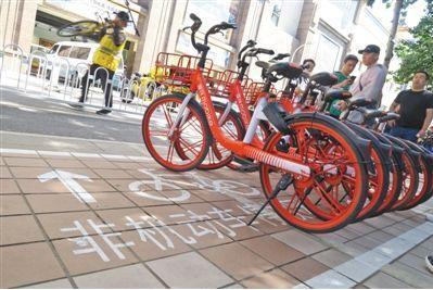 共享单车如何成为城市风景