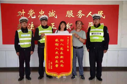 赤峰宝山交警为突发心脏病患者抢回生命
