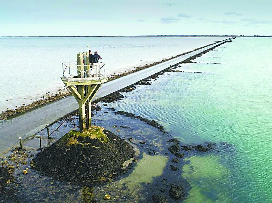 法国潮汐公路 每天仅放行两次