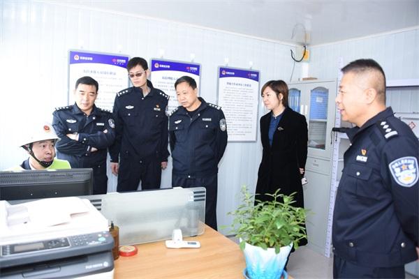 河北石家庄建成25个农村道路交通安全劝导站