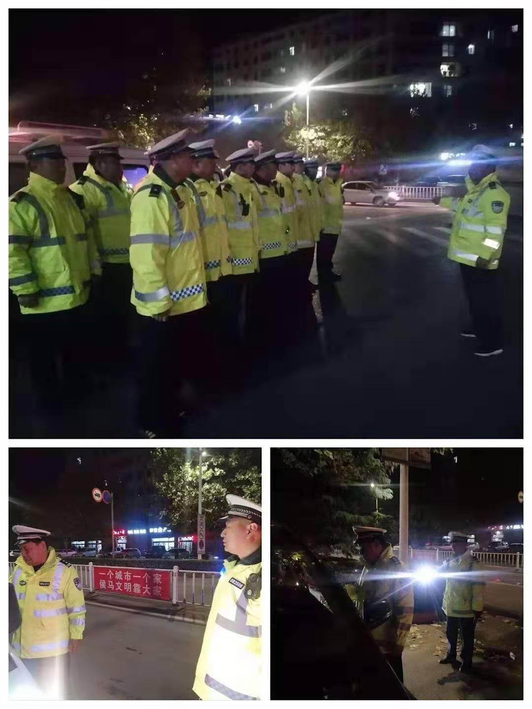 侯马、襄汾、翼城、曲沃四地交警联合执法打响冬季交通事故预防攻坚战
