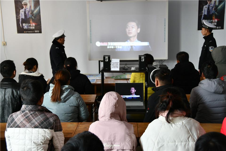 夏县公安交警——文明交通进驾校 安全教育抓源头