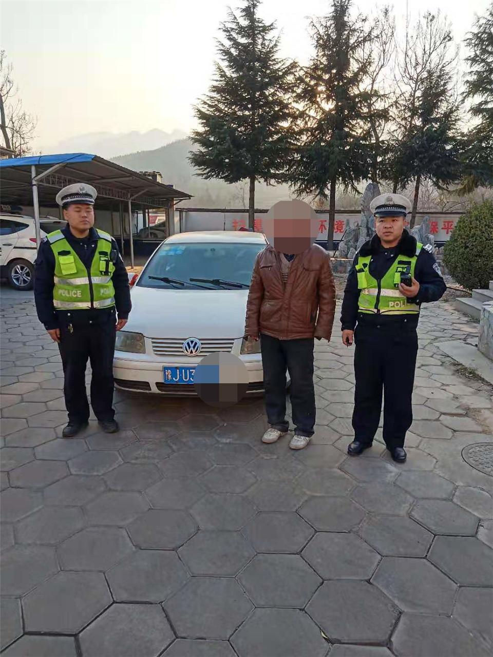 无证驾驶车辆跨省行驶,平顺交警严查违法行为