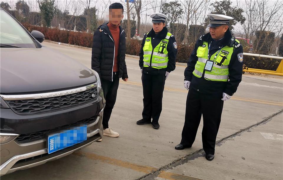 运城临猗:缉查布控系统预警违章车 暴露出了问题司机