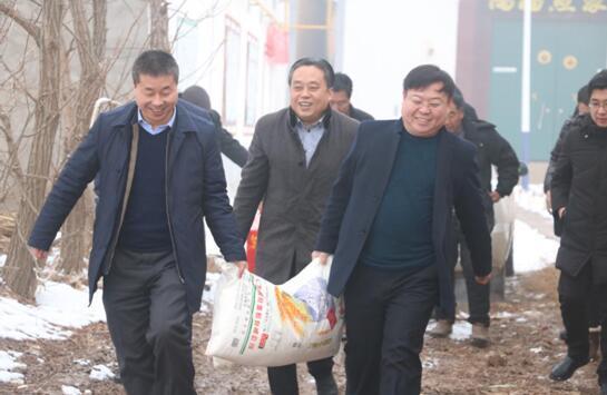 """中国小康建设研究会""""小康暖心行""""活动走进河北大名县"""