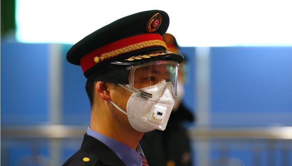 北京西站加强疫情防控
