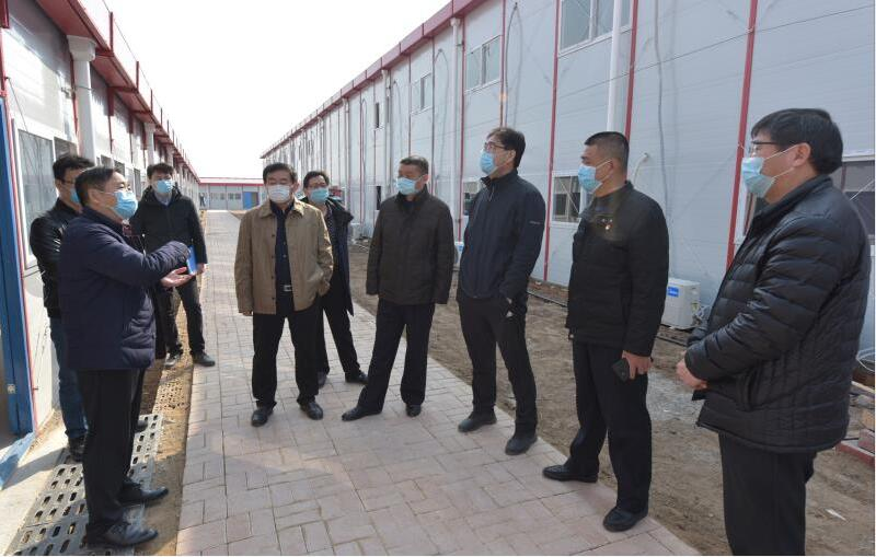 中铁上海局郑济项目部  把好防控 确保复工复产两不误