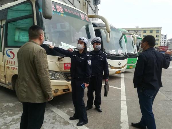 衡阳:耒阳公安交警多措并举 全力护航复工复产