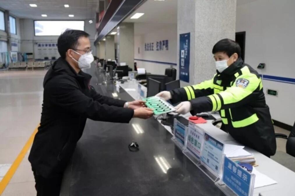 河北省车驾管人工业务窗口正稳步恢复