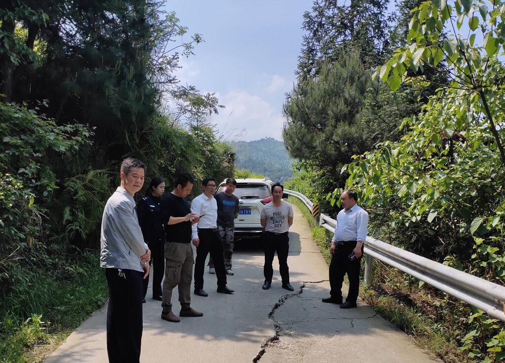 湖南通道:深入排查隐患路段 坚决防控县域风险