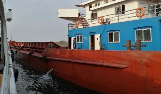 浙江海警办理一起海上无证驾驶机动船舶案件