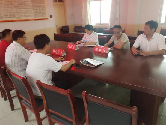 河南虞城县运管局约谈货运企业 规范运输行为