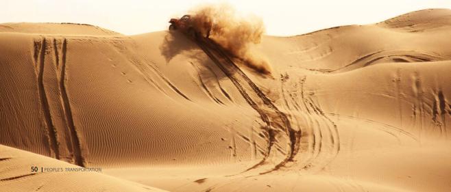 大漠驰骋,越野人破茧不只为成蝶