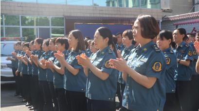 河南林州交通运输综合行政执法大队挂牌成立