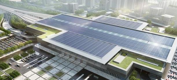 北京地铁16号线丰台站主体结构封顶