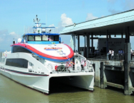 广深首条水上高速客运航线正式开通