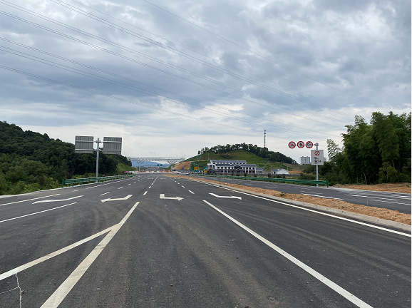 省道棋河线S222分宜绕城段一级公路开展第三方质量检测
