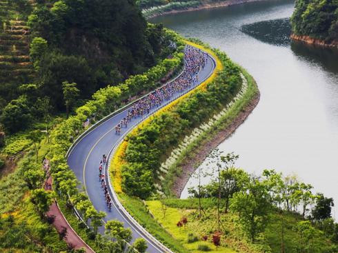 """浙江:这两条农村公路""""颜值""""排名全国前十(图)"""