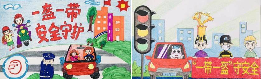河北 :童心绘漫画  警民汇安全