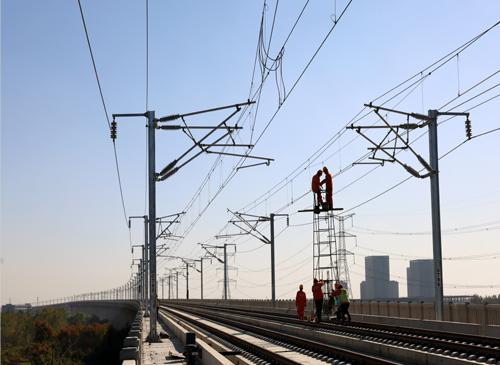 新建徐州至连云港高铁电气化工程进入攻坚阶段